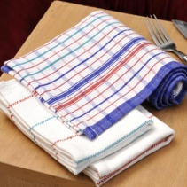 Commercial Check Tea Towels