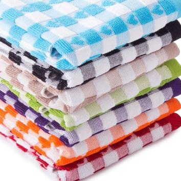 Jacquard Luxury Heart Towels