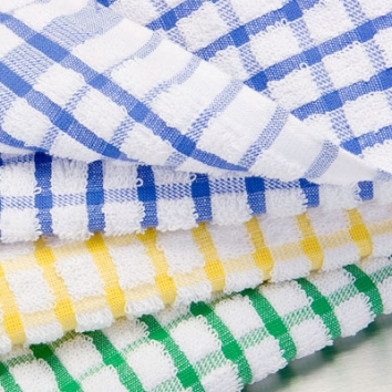 Luxury Check Tea Towels