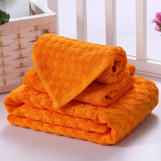 Dyed Chess Hand Towels
