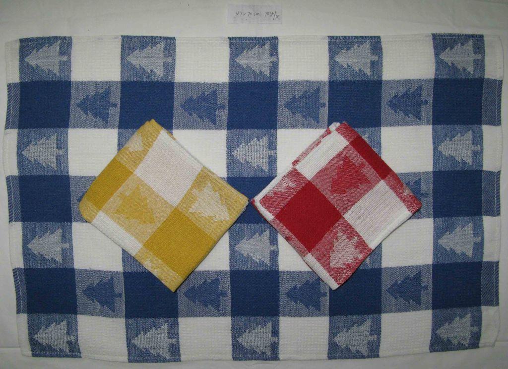 Jacquard Kitchen Towels Lions Textiles